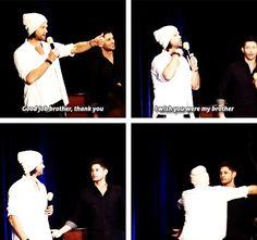 Jealous Jensen <3 #Dallascon2013