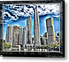 Singapore Canvas Print / Canvas Art By Holley Jacobs