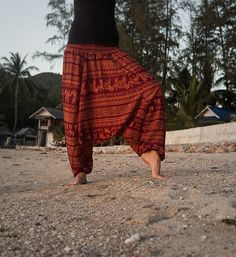 Harem Pants / Baggy Pants / Aladdin Pants / Yoga by AsianCraftShop, $22.00