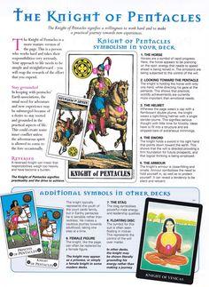 Arcane Mysteries | Tarot ~ pentacles knight