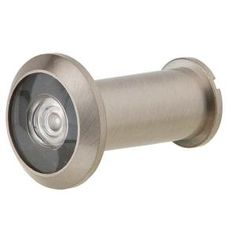 Schlage Satin Nickel Wide Angle Door Viewer-SC698P B 619 at The Home Depot