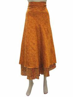 Sari Wrapskirt Orange Printed Wrap Around Sarong Dress Mogul Interior,http://www.amazon.com/dp/B00H8MCTZW/ref=cm_sw_r_pi_dp_n6NRsb0GKJVC7MMB