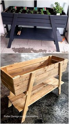 New Projects for Wood Pallet Reusing - Planters - Ideas of Planters - It is the heartiest wish of everyone to have the delicate planter structure at home in which he/she can grow beautiful flowers and fresh plants. But today we are here to