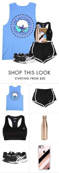 """Can't wait till our first tourney"" by labures on Polyvore featuring NIKE, adidas, S'well, Asics and Casetify"
