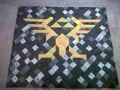 Legend of Zelda Quilt. Wish I could get the pattern.
