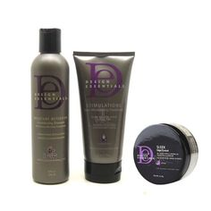 Design Essentials Moisture Shampoo 8oz   Stimulations Conditioner 6oz   Sleek Edge Control 2.3oz SET * Check out the image by visiting the link.
