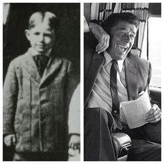 40. Ronald Reagan, b. 1911