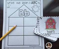 Write the room ABC's has everything you need for fun and easy writing centers for your students. Letters Aa-Zz are included with over 165 picture cards ready to use around the room.  This is an activity that you can use all year long!