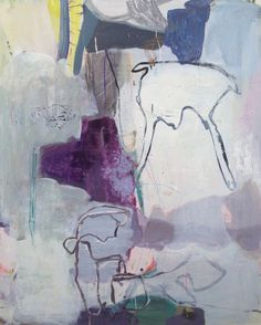 Artist: Jette Segnitz, www.segnitz.dk Abstract paintings.