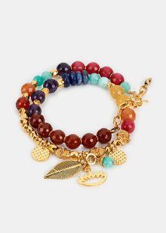 Chakra Charm Wrap Bracelet | Rodale's