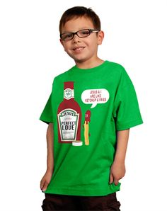 Ketchup Fries (Youth Boys) - Christian Kids Shirts for $17.99 | C28.com