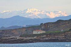 #Luanco, donde el mar y la montaña lo puedes contemplar a un simple golpe de vista. #Asturias siempre !!!