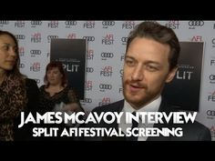 James McAvoy Interview Split AFI Festival Premiere (2016) - YouTube