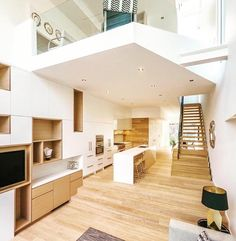How cool is this loft? Show your love double tap ! Thanks @the_architecture_lover for sharing it.  Residence Helmar House 1  Design by Architect Luc Bouliane  Location: #Ontario #Toronto #Canada  The most significant innovation of the project is the atrium space within each side of the complex.  It underscores the primary request for the maximization of natural light while simultaneously instigating and augmenting natural ventilation.  Tag your best photos with #designwanted and follow…