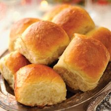 Amish Dinner Rolls: King Arthur Flour  5 eggs 1 cup sugar 1 T salt 3/4 cup lard 2 cups mashed potatoes 1 pint warm water 2 packages yeast 8 cups bread flour