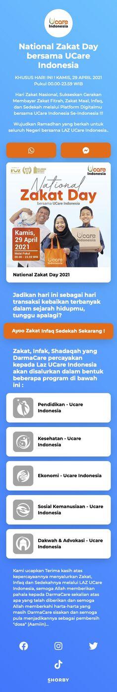 #nationalzakatday #bersama #ucareindonesia #pinterestinspired Digital Marketing