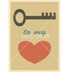 Love poster vector by Yaviki on VectorStock®