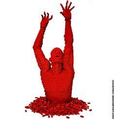Legos will never not be cool.   Nathan Sawaya | The Art of the Brick™ (His website: http://brickartist.com/)