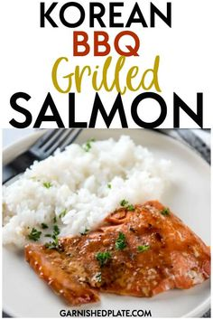 a quick and healthy weeknight dinner, you can't beat a delicious grilled salmon! This Korean BBQ Grilled Salmon comes together with just a few ingredients and is easy to make! Quick Dinner Recipes, Quick Meals, Grilling Recipes, Seafood Recipes, Fish Recipes, Korean Bbq Grill, Asian Bbq, Healthy Weeknight Dinners, Baked Salmon Recipes