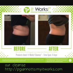 Amazing results from our cleanse