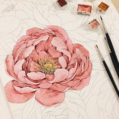 Watercolorist: @hyovely_91 #waterblog #акварель #aquarelle #drawing #art #artist #artwork #painting #illustration #watercolor #aquarela