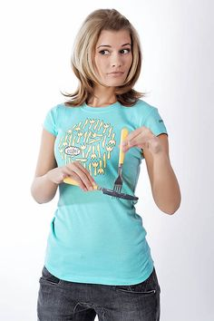 Forks, Knives, T Shirts For Women, Fashion, Moda, Bobby Pins, Fashion Styles, Knife Making, Knifes