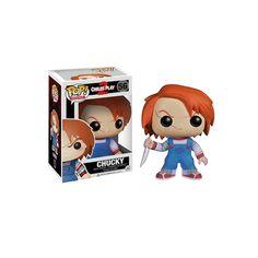 Figura Pop! Movies - Chucky Chucky ya está consagrado como uno de los personajes clásicos del cine de terror y ahora convertido en figura Pop de vinilo.