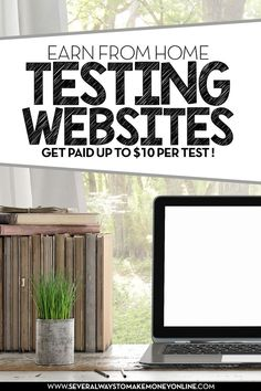 Website testing is a new legitimate way to earn some extra income from home for providing feedbacks on a website's design, functionality and usability. Start earning from home testing websites and get paid up to $10 per test.