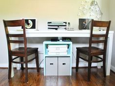 two person computer desk home office (It Will Inspire You) #desk #computer #workstation #chair #person