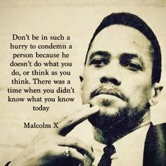 #judgenot #eachoneteachone #sayitlikeitissaturday #happymalcolmxday #mahagonymay #blackhistoryyear