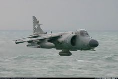 British Aerospace Sea Harrier FA2; North Sea