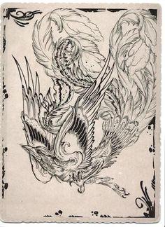 japan phoenix tattoos - Поиск в Google