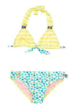Mixed Prints Halter Bikini (Little Girls & Big Girls) by Agatha Ruiz de la Prada Swim on @HauteLook