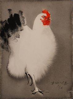 Ink, 38x28 cm by Endre Penovác