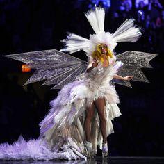 Lady Gaga's Living Dress -- so strange, but so cool.