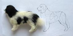 Zubehör Breyer Basteltipps ~ needle felted dog how to and photos