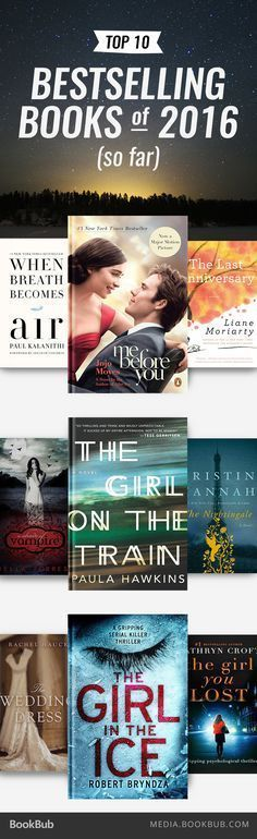 Looking for your next great read? Check out the bestselling books of 2016 (so far).