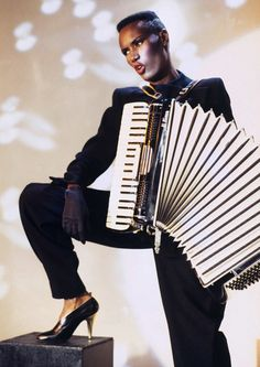 "Can you say ""WARM leatherette....WARM leatherette!""? Grace Jones says you'd betta ""Do or Die."""