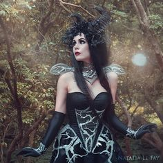 Gothic Fashion Models | Submitted by filthyvictorianmademoiselle:Model: Mademoiselle Karma ...