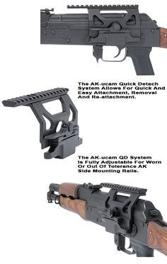 AK-47 Scope Mount w/Quick Detach System |GG&G Tactical