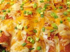 Fabulous Cream Cheese Chicken Enchiladas Recipe