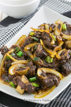 Beef Ribs in Black Pepper Sauce01 Instant Pot Pressure Cooker, Pressure Cooker Recipes, Pressure Cooking, Easy Chinese Recipes, Asian Recipes, Tasty Dishes, Food Dishes, Christine's Recipe, Beef Back Ribs
