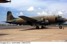 Military Aircraft Photos in South Africa Page 2 Cargo Aircraft, New Aircraft, Aircraft Parts, Air Force Aircraft, Military Jets, Military Aircraft, Douglas Dc 4, South African Air Force, British Aerospace