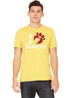 i love beagles 1 Tshirt