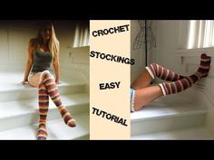 Boho Chic Crochet Stockings Tutorial - YouTube