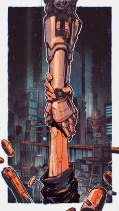Cyberpunk Aesthetic, Cyberpunk City, Arte Cyberpunk, Cyberpunk 2077, We All Mad Here, Character Art, Character Design, Arte Robot, Mechanical Art