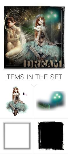 """The Dreamer.."" by blue-eyes-7577 ❤ liked on Polyvore featuring art"