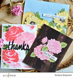 Altenew May 2016 Release Blog Hop