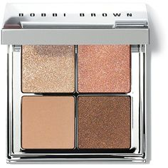 Bobbi Brown Bronze Eye Palette, Nude Glow Collection found on Polyvore