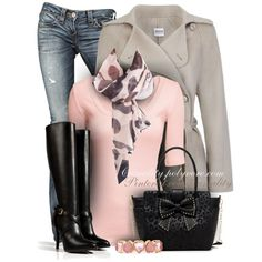 """Leopard, Pink, and Bows, Oh My!"" by casuality on Polyvore"